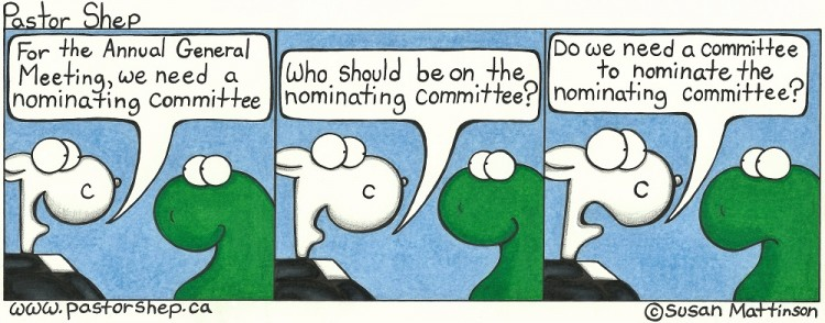 Image result for nominating committee cartoon