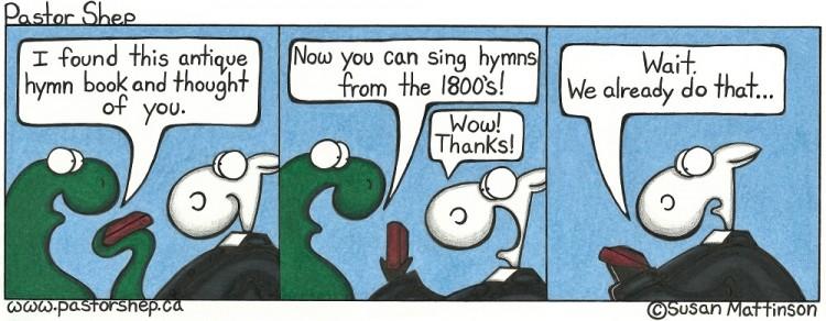 antique hymn book sing songs1800s worship pastor shep christian cartoon