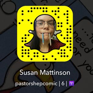 snapchat, susan mattinson, pastorshepcomic, snap chat, pastor shep, christian