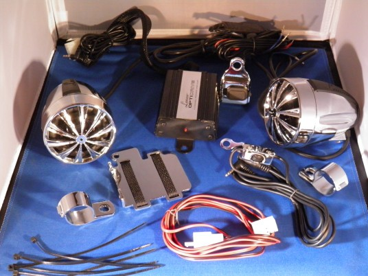 700 Watt Motorcycle Audio System
