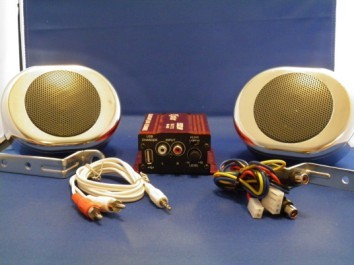 MP3 Motorcycle Audio System