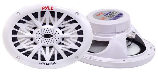 PYLE  6'' x 9'' Two-Way Marine Water Proof Speaker System