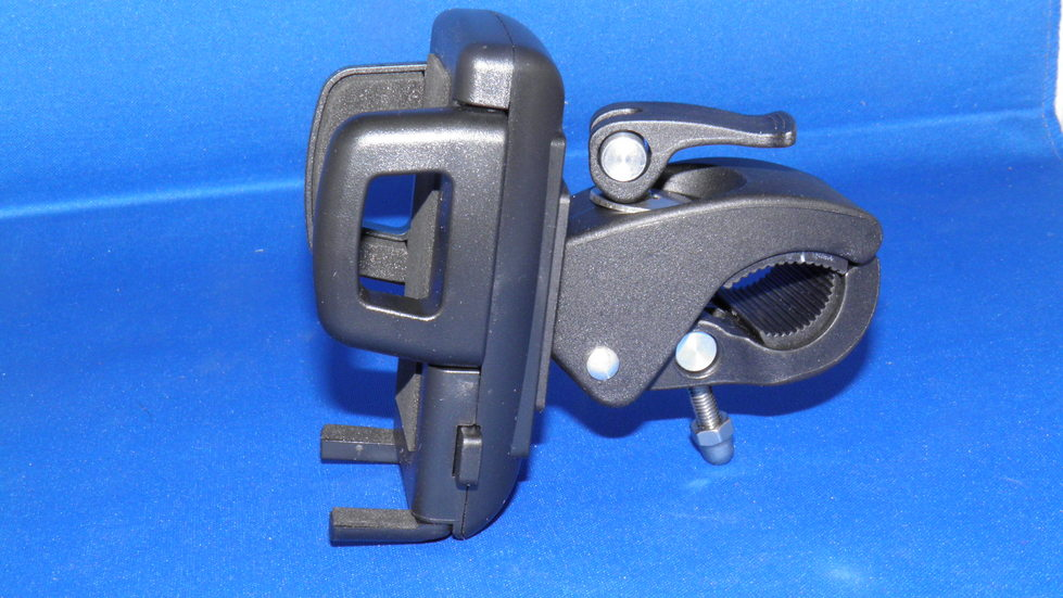 Motorcycle MP3 handlebar bracket