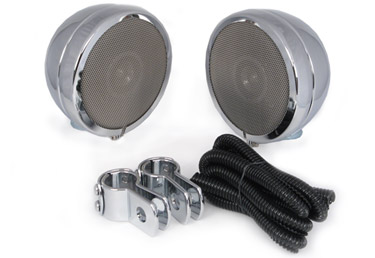 Chrome Bullet Speakers