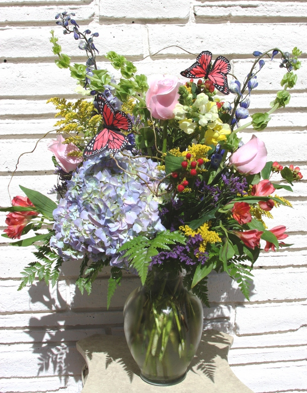 Tapestry Vase by belle fleur