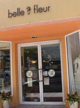 belle fleur flower shop coral gables Miami wedding planner