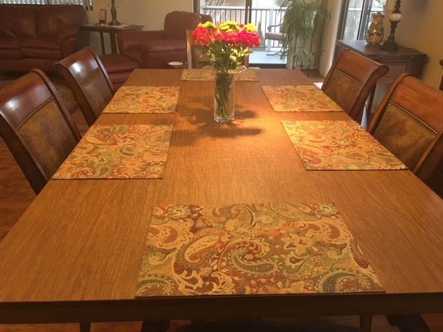 Custom Made Dining Room Table Pad Protector Top Quality - Table pad clips