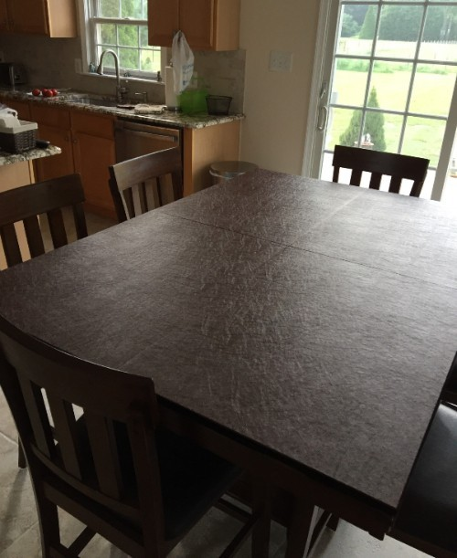 Custom Made Dining Room Table Pad Protector Top Quality - Ohio table pad company reviews