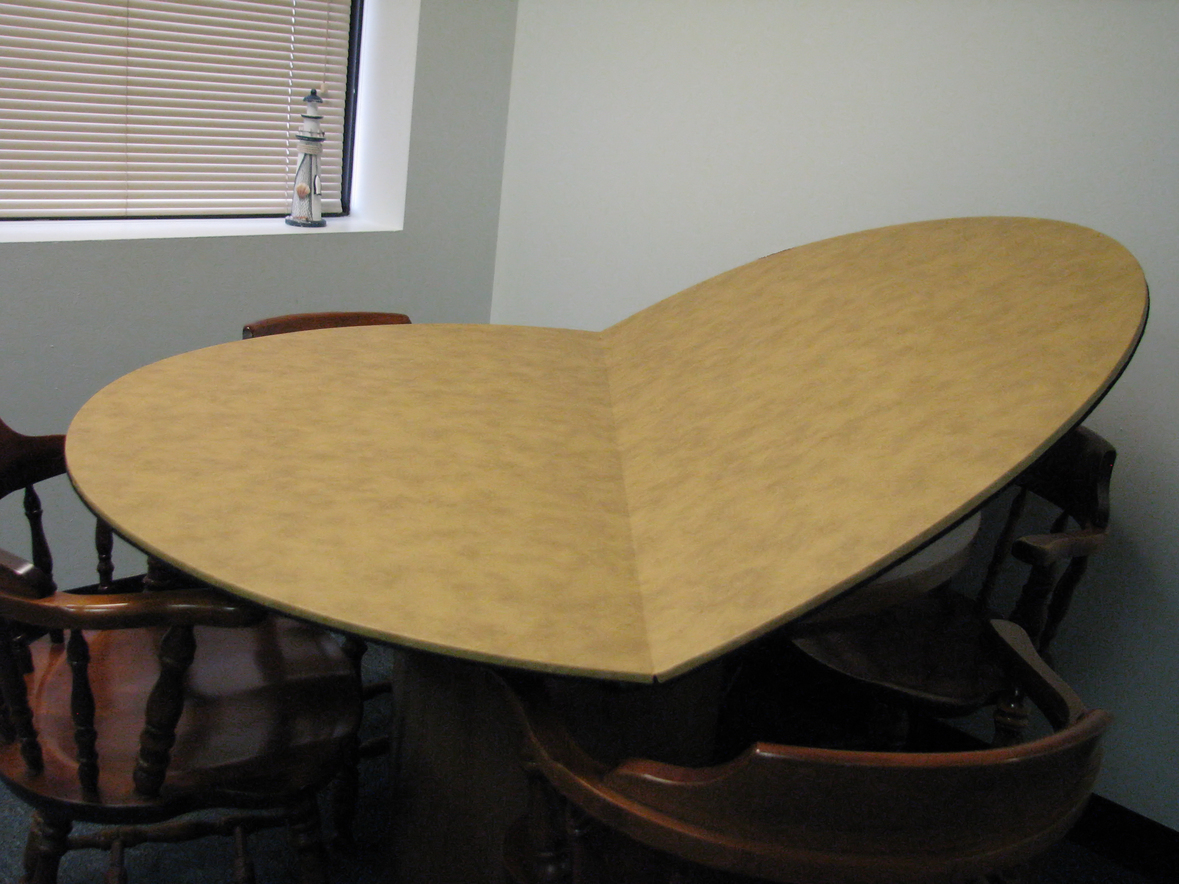 Custom table pads for