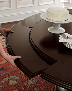 Rounded Table Leaves, No Problem!