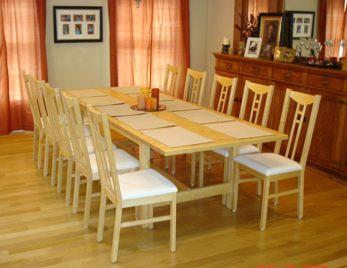 Dining Table seating for 10