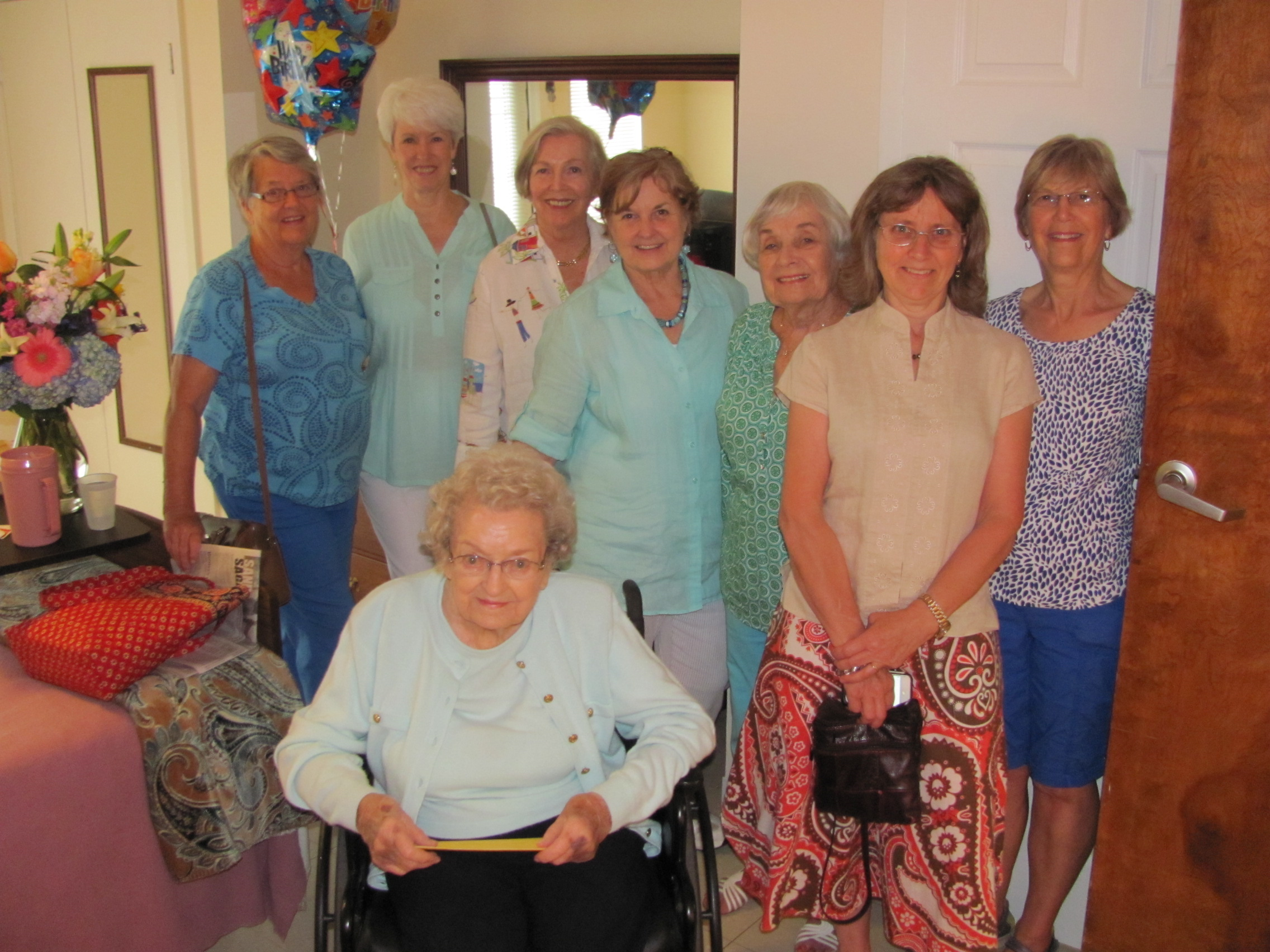 2016 Margret Finney's 100th birthday