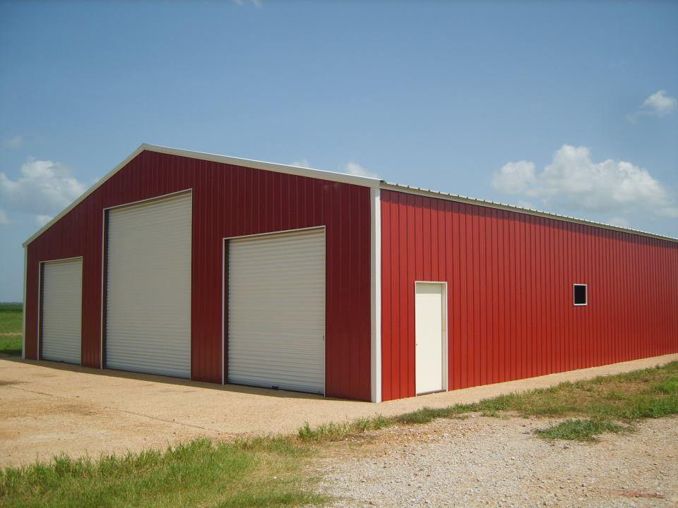 Metal garages kansas metal garage prices steel garage for Garage building cost