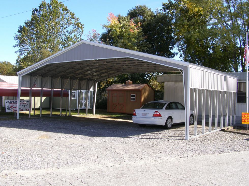 40 Wide Carports Georgia GA