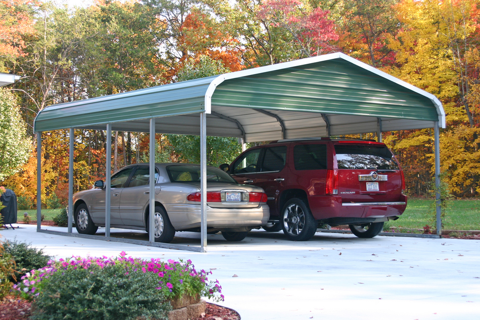 Double Carports North Carolina NC