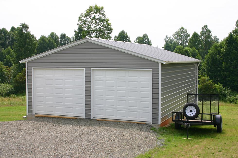 Garage En Carport : Carports metal garages steel buildings barns rv covers