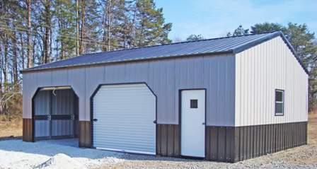 Arkansas Metal Carports Metal Garages View Out Garage