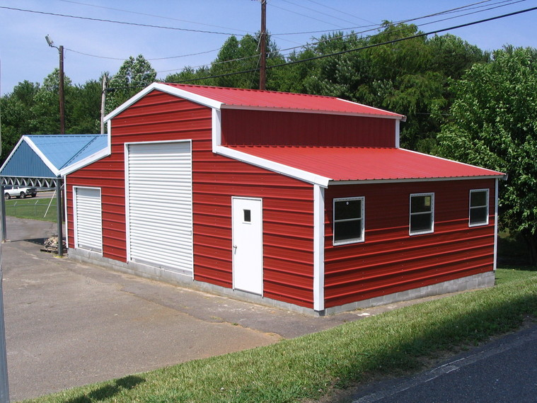 Arkansas metal carports metal barns see our different for Metal barn pictures