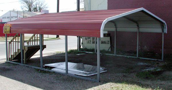 Single Car Carport With Storage Area : Arkansas metal carports shopping