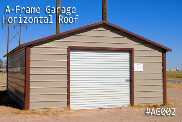 Arkansas Metal Carports | Metal Garages - View out Garage Selections