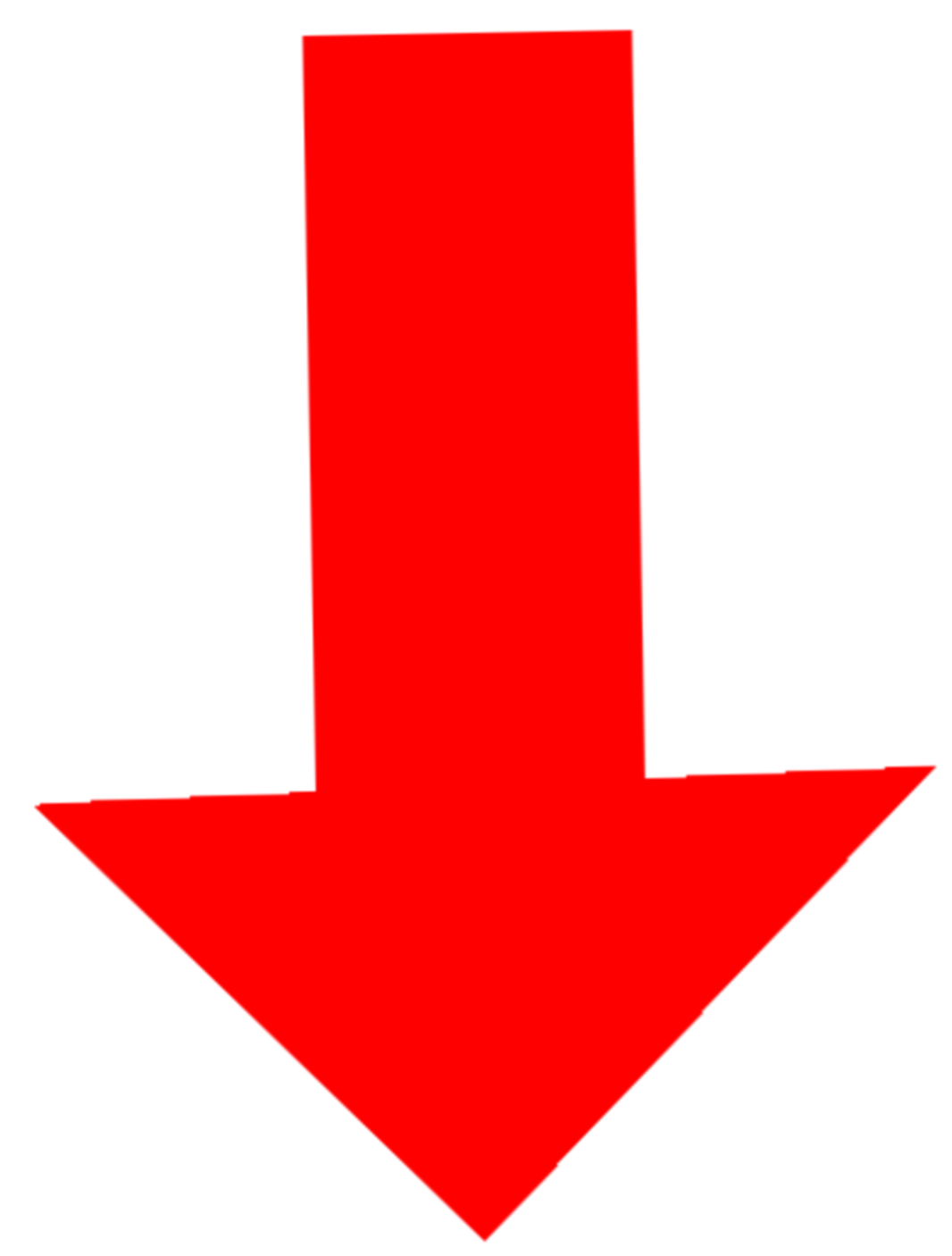 Red Pointing Arrows Red Arrow Png Free