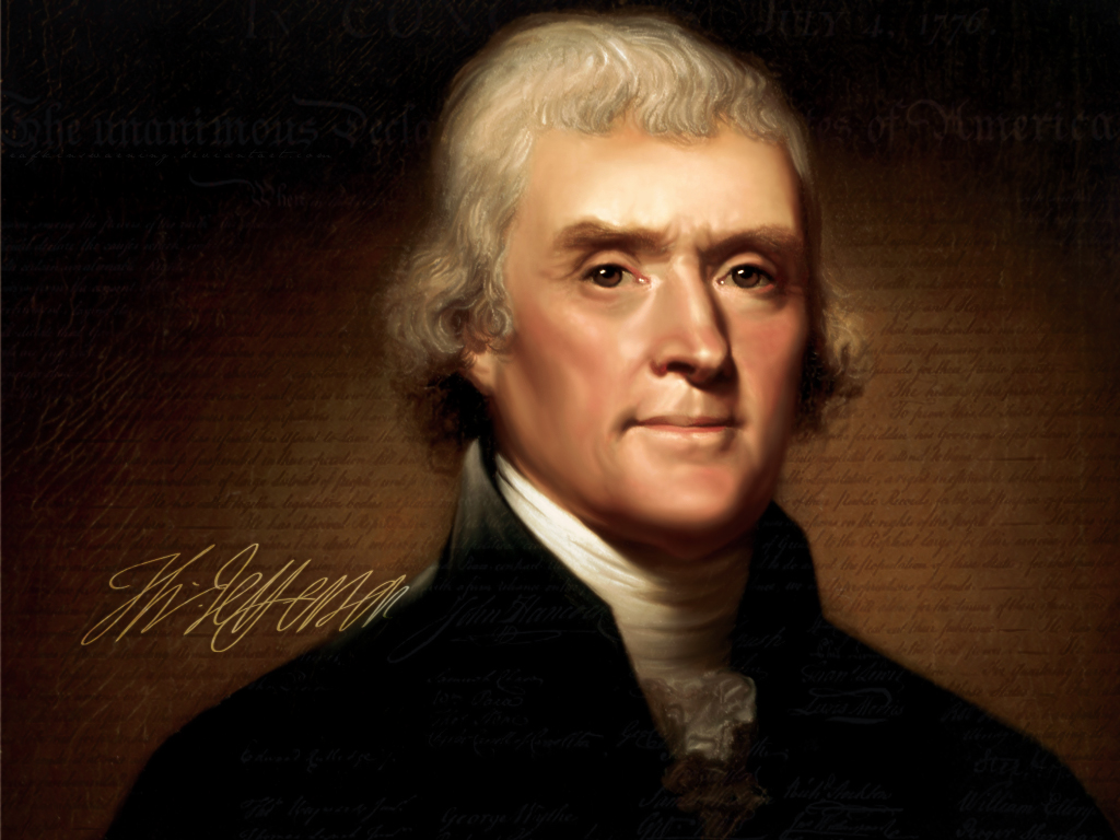 Thomas Jefferson - 7 Orang Jenius Ini Ternyata Mengidap Autisme!