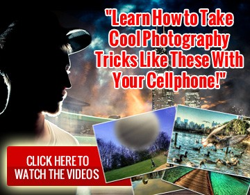 learnhow to take cool photographaphy tricks