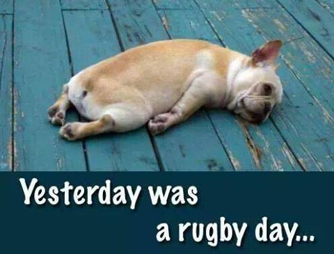 rugby day