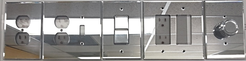 Mirror Switch Plates