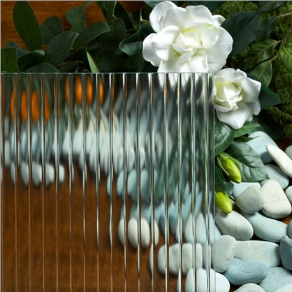 1/2# Reeded GL 585 - Cabinet Glass