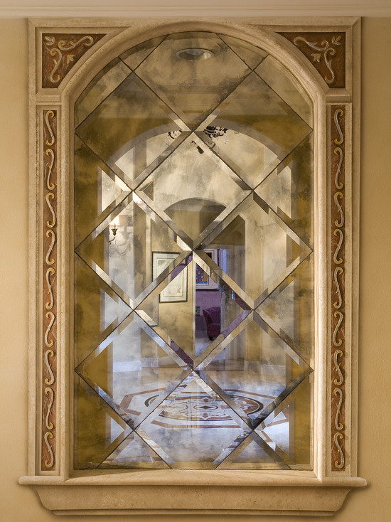 Antique mirrors designs for Mirror glass design