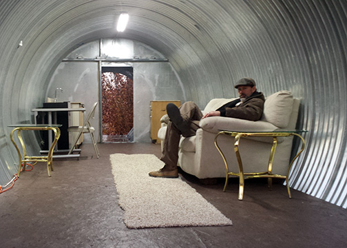 Man Cave Urban Utilities : Underground shelters ben s homes