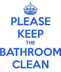 keeping your bathroom clean