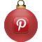 Pinerest Christmas Icon