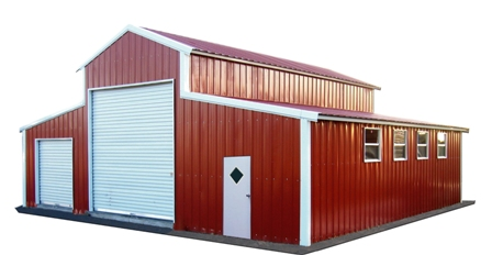 Barns in Cedar City | Utah Barns | We sell metal Barns ...