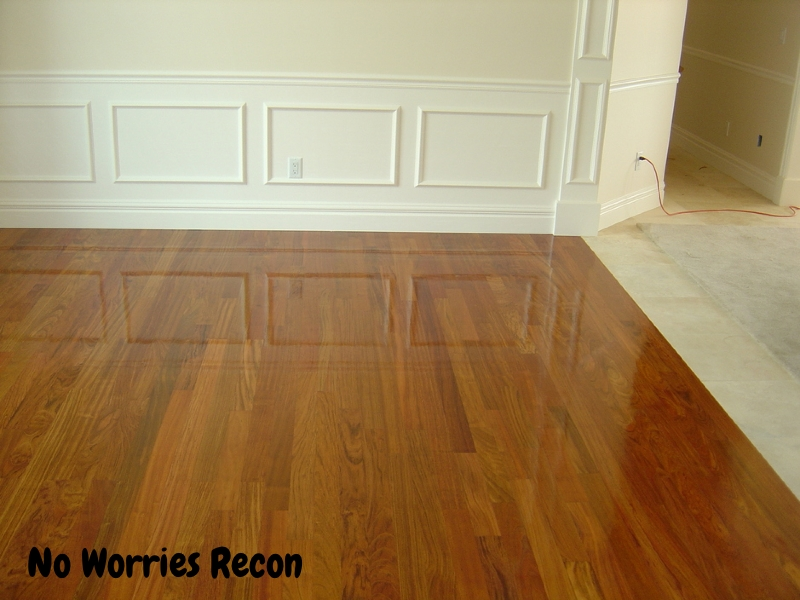 No Worries Recon Hardwood Flooring Experts Professional