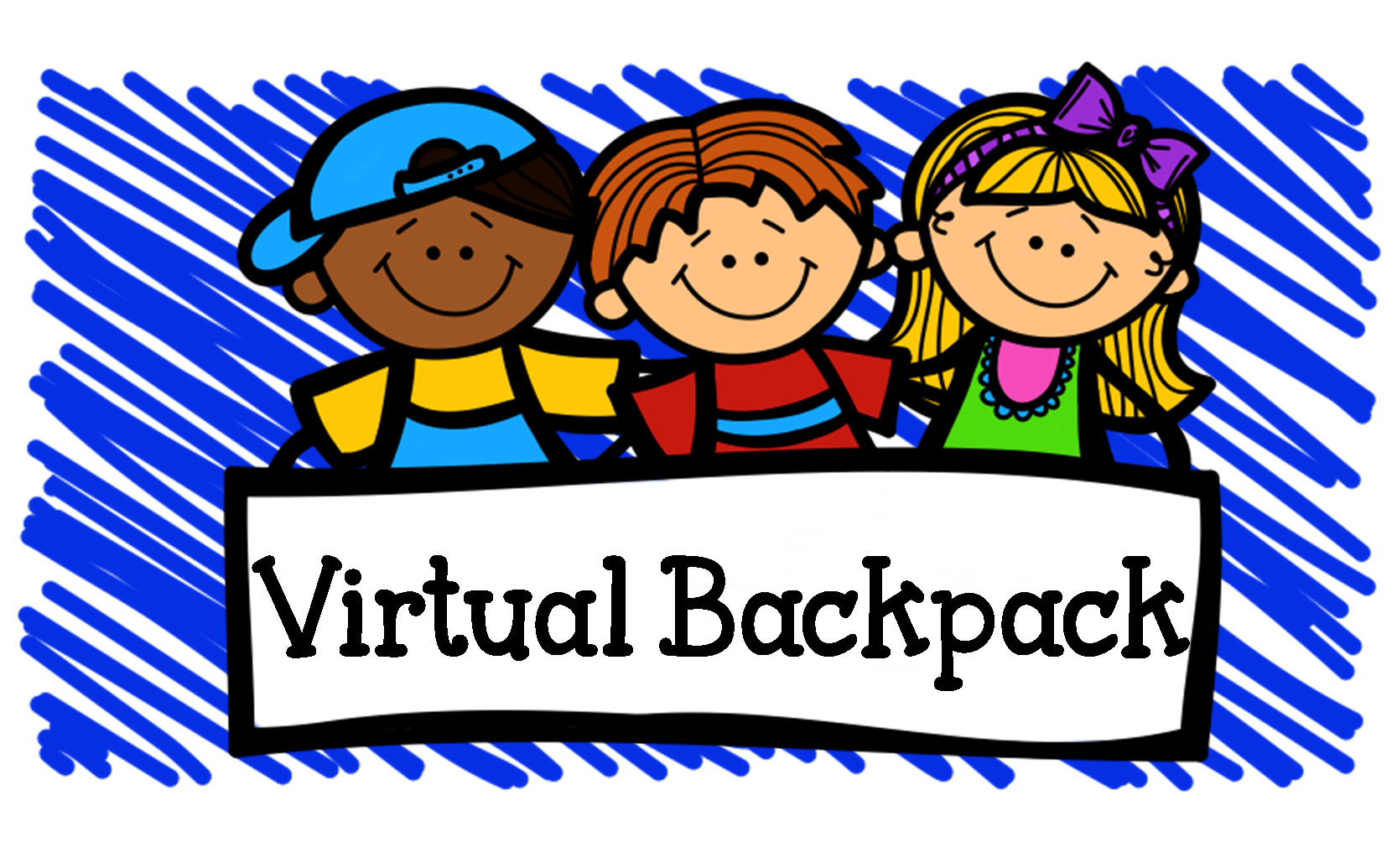 Image result for cartoon virtual backpack images