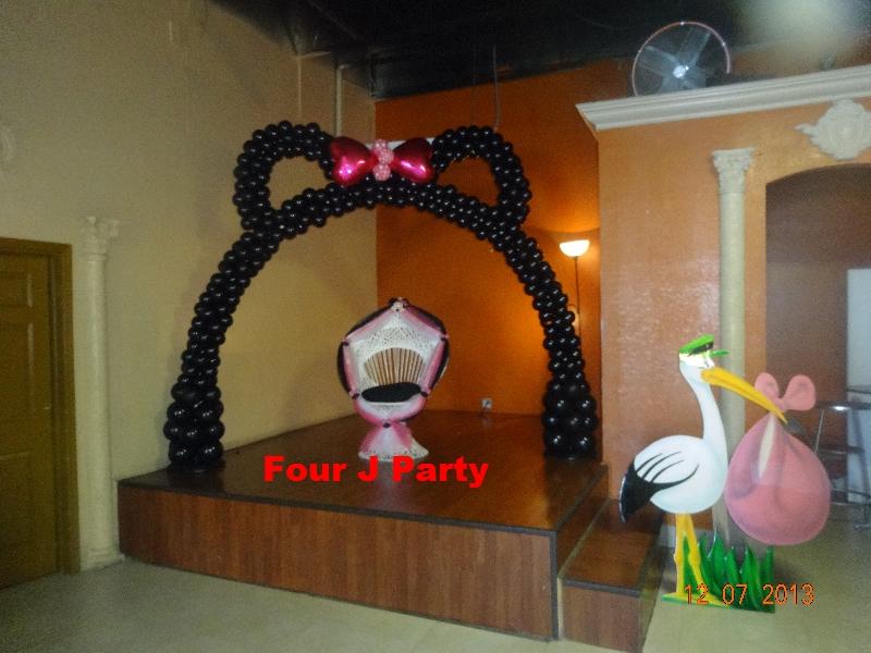 Baby Shower Chair Ear Balloon