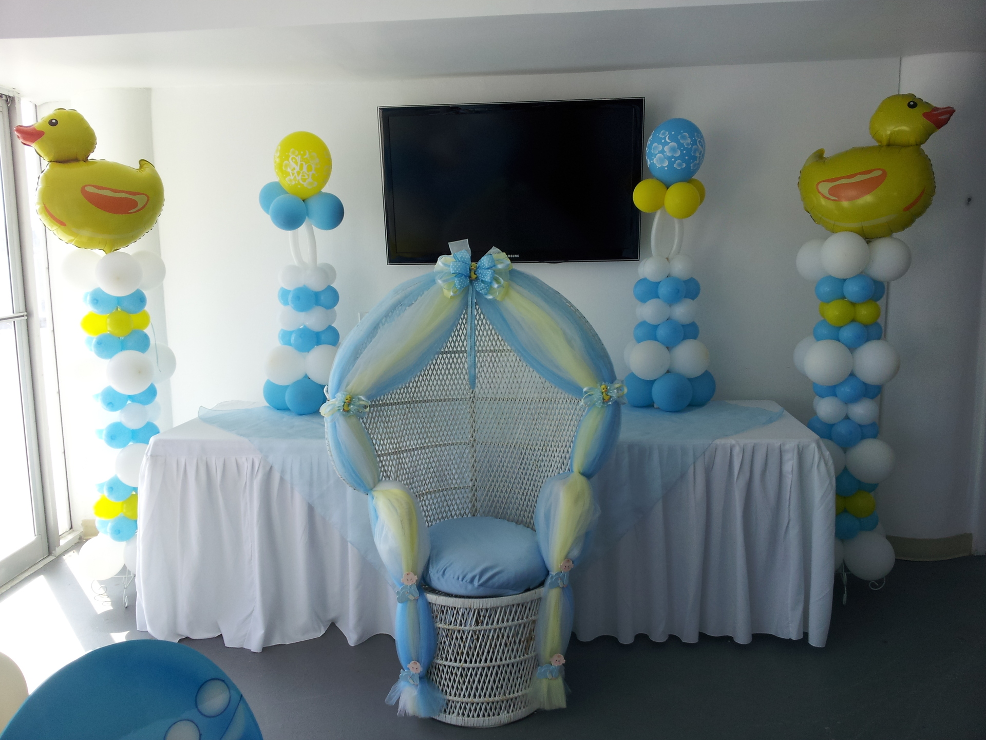 Turquoise Baby Shower Decorations Baby Shower Chairs