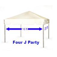 Rent a Tent 10 x 20