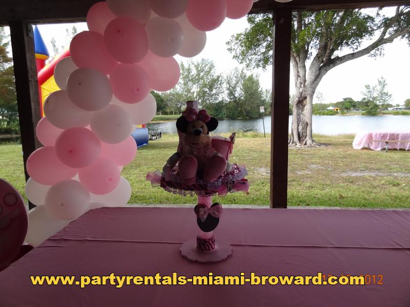 Baby Shower Center Pieces Minnie Mouse