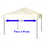 Rent Tent 10 x 10 for Party or Corp