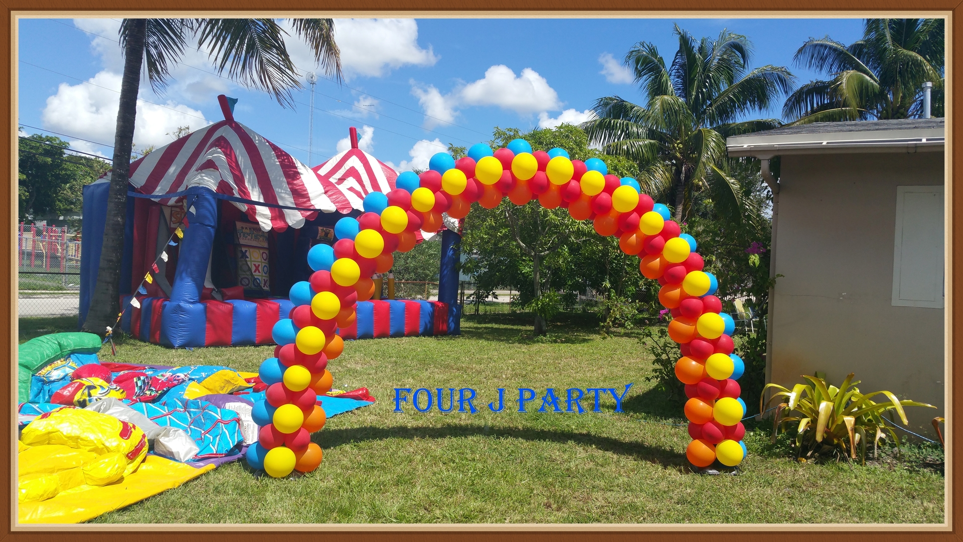 Circus Arch Balloons Decorations
