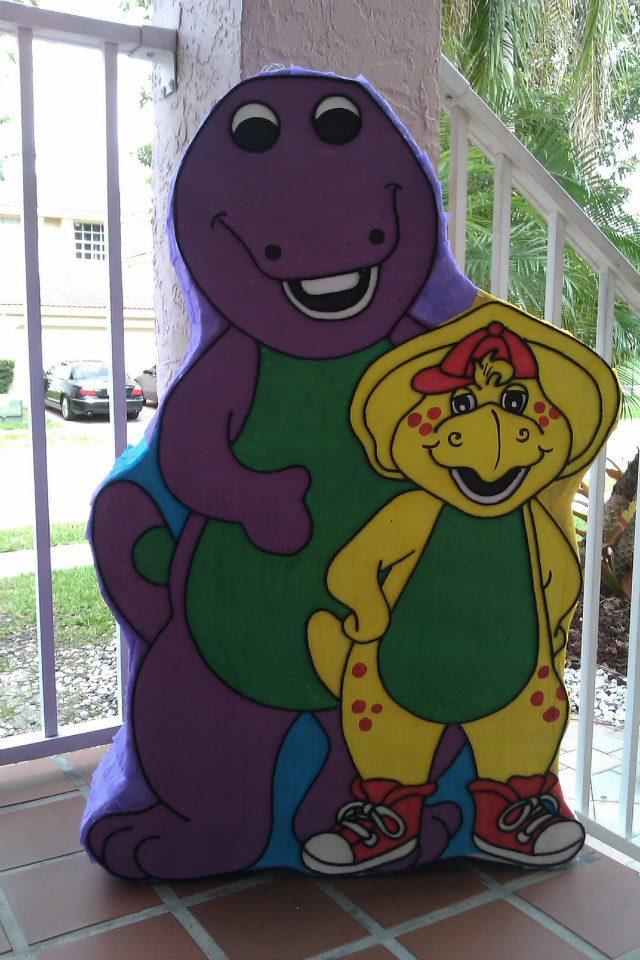 Barney Friends Pinata