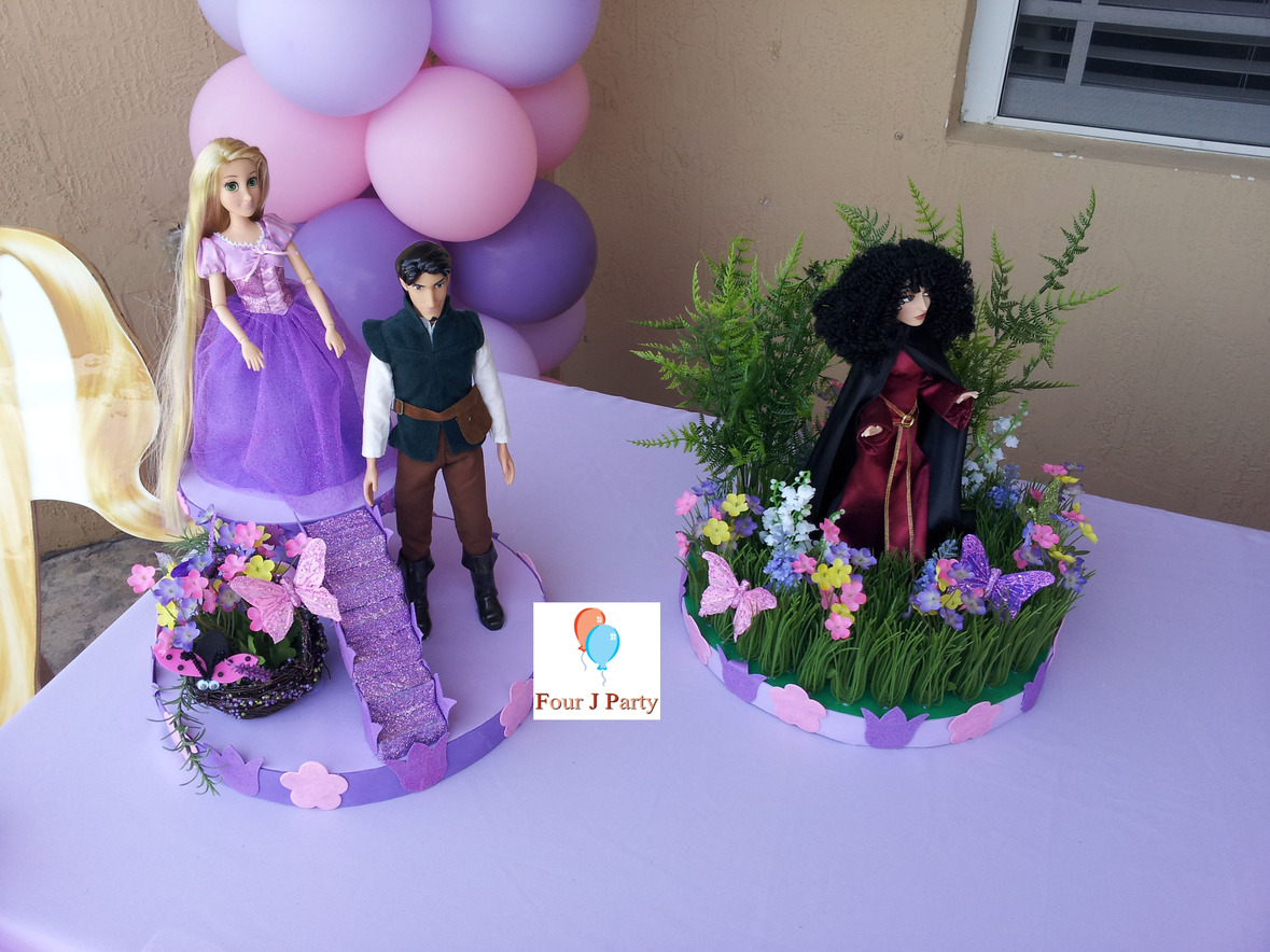 Rapunzel Decoration