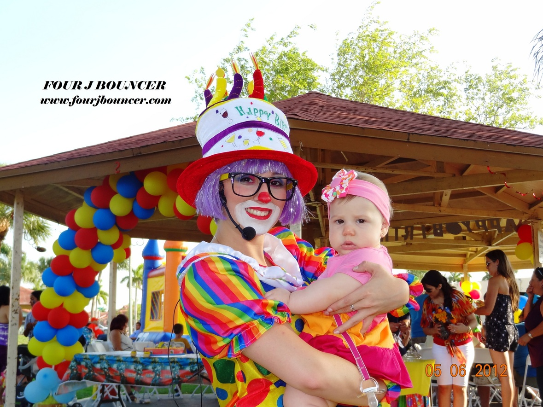 Clown Party Rental