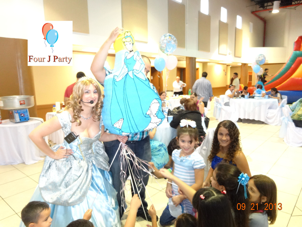 Cinderella Party Supplies And Birthday Decoration In Miami