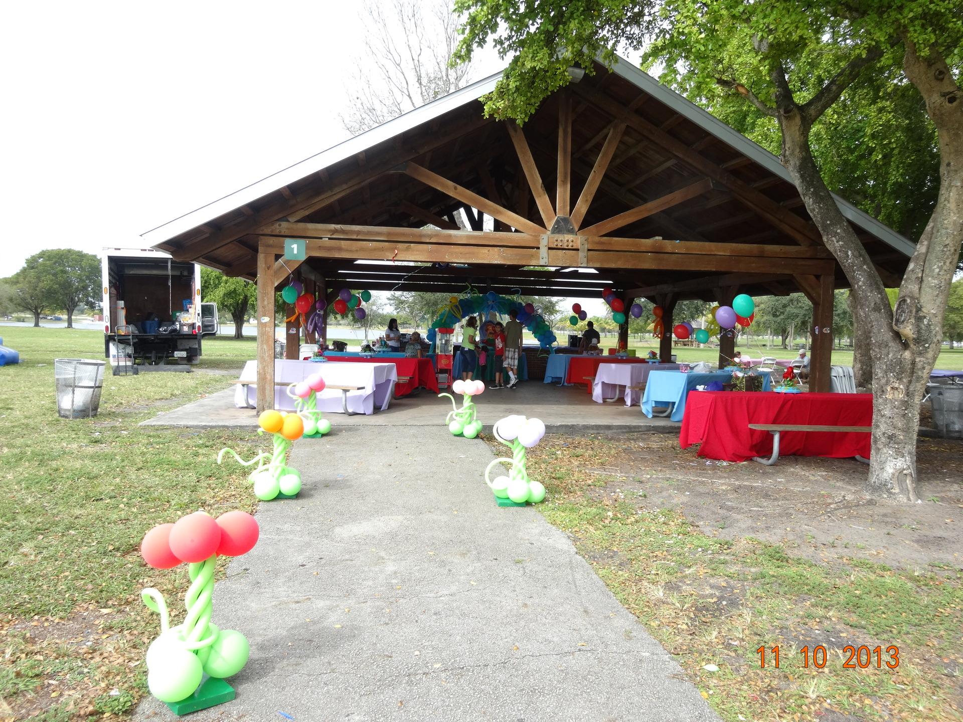 Entry park Ariel
