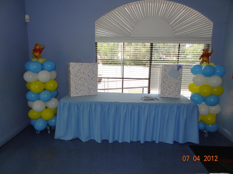 Baby Shower Winnie Pooh Miami Florida Hialeah