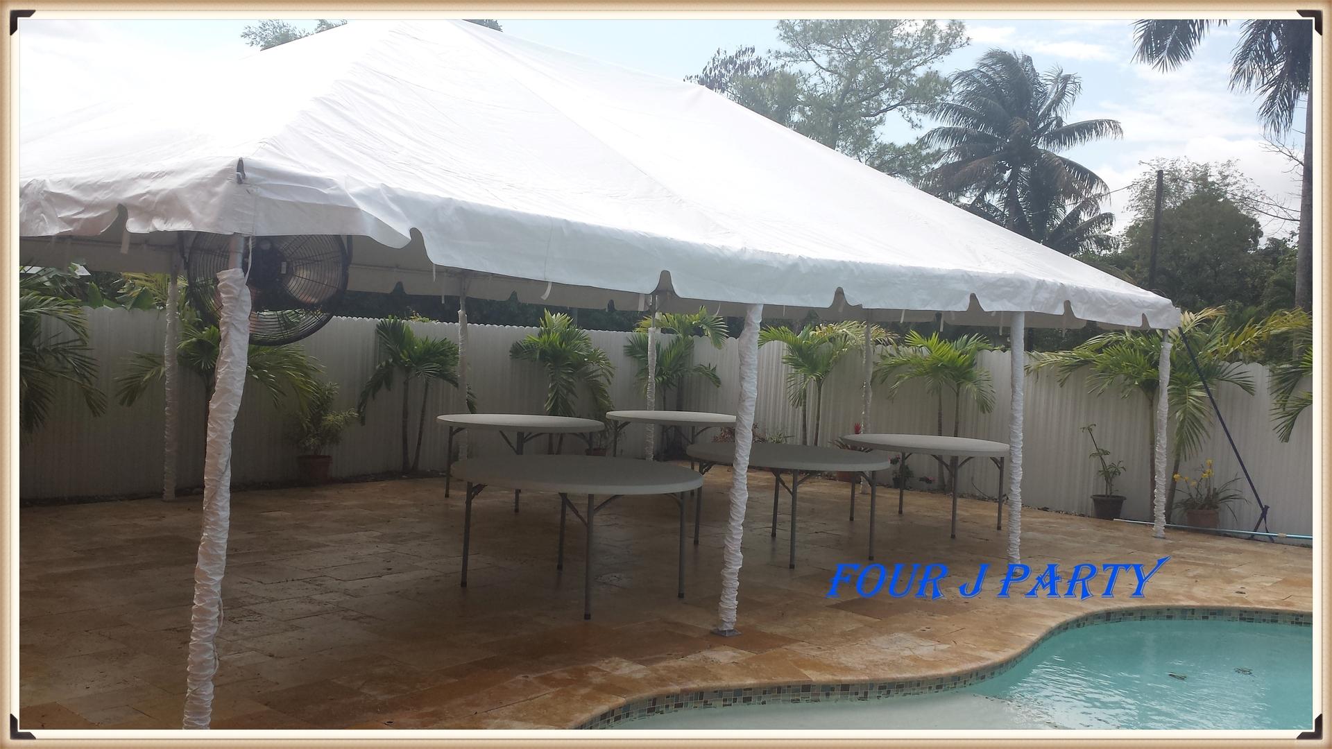 Corporation Tent 20 x 40 Rent